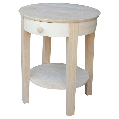 Philips End Table Wood - International Concepts - image 1 of 4