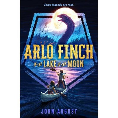 Arlo Finch in the Lake of the Moon - (Arlo Finch, 2) by  John August (Paperback)