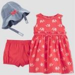b421f9e404e8c Baby Girls  2pc Elephant Print Dress Set - Just One You® made by carter s