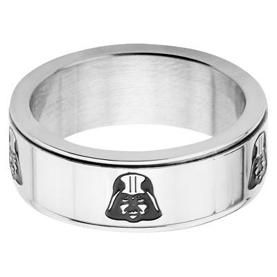 Men's Star Wars Darth Vader Stainless Steel Spinner Ring