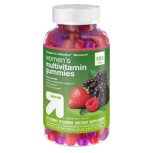 Women's Multivitamin Gummies - Natural Berry - 150ct - Up&Up™ - image 1 of 3