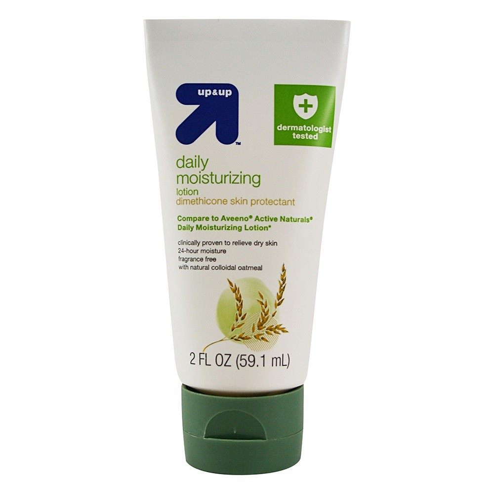 Daily Moisturizing Lotion - 2 fl oz - Up&Up (Compare to Aveeno Active Naturals Daily Moisturizing Lotion)