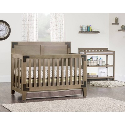 Child Craft Lucas 4-in-1 Convertible Crib - Dusty Heather