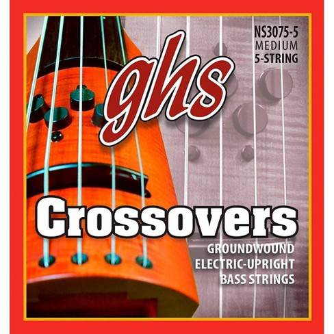 GHS Crossovers NS Design 5-String Upright Electric Bass Strings (47-128) - image 1 of 1