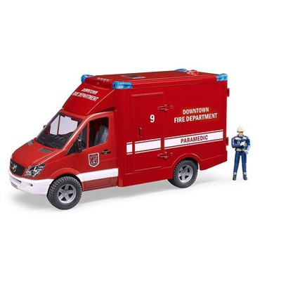 Bruder MB Sprinter Paramedic with Driver