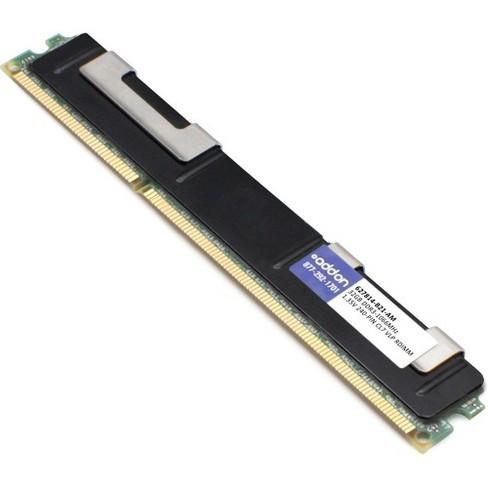 AddOn AM1066D3QR4VRN/32G x1 HP 627814-B21 Compatible Factory Original 32GB DDR3-1066MHz Registered ECC Quad Rank x4 1.35V 240-pin CL7 Very Low Prof... - image 1 of 1