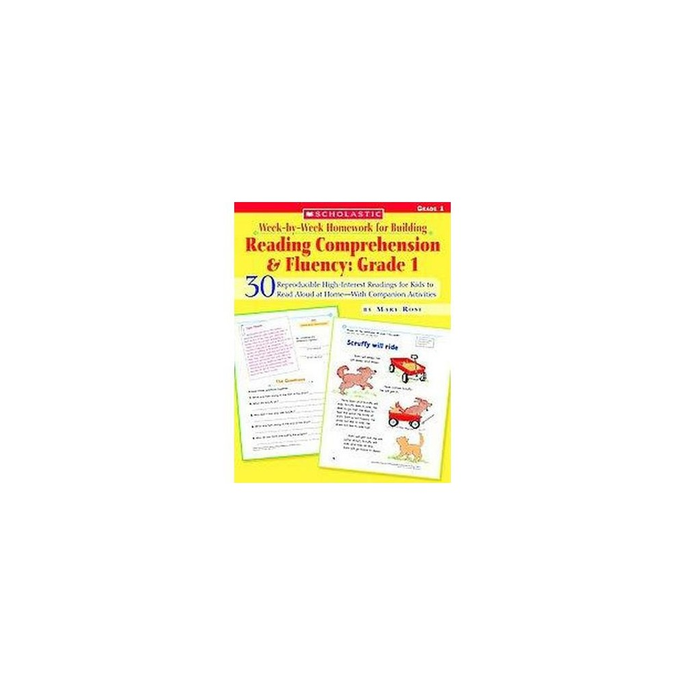 Week-by-week Homework for Building Reading Comprehension and Fluency : 30 Reproducible High-Interest