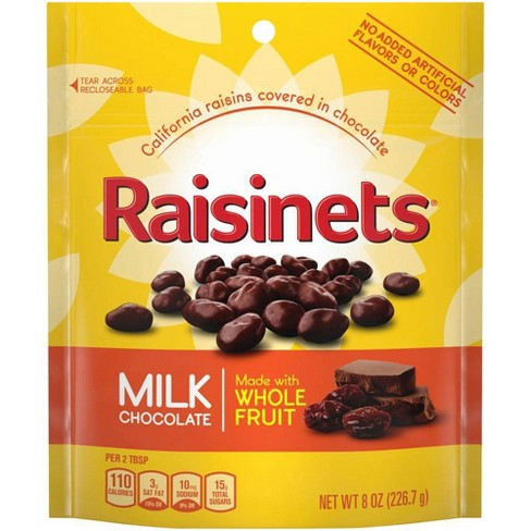 Raisinets Milk Chocolate Covered Raisins - 8oz - Nestle - image 1 of 4
