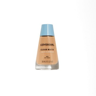 COVERGIRL® Clean Matte Foundation 555 Soft Honey 1Fl Oz