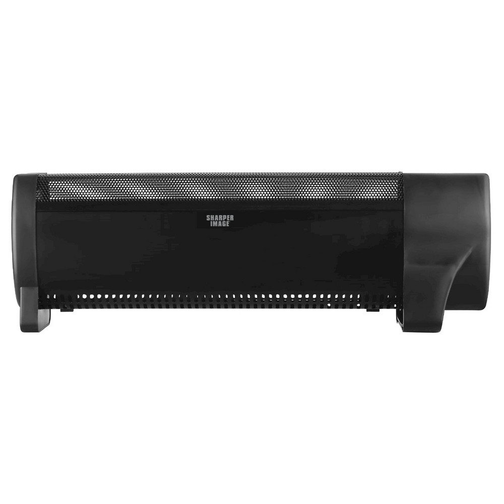Sharper Image Baseboard Floor Heater, Black