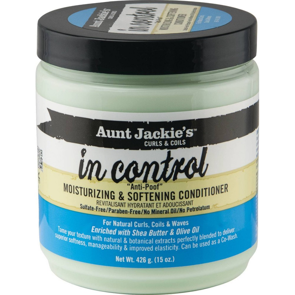 Aunt Jackie S In Control Anti Poof Moisturizing Softening Conditioner 15oz