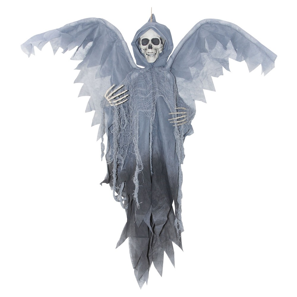 36 Halloween Winged Gray Reaper