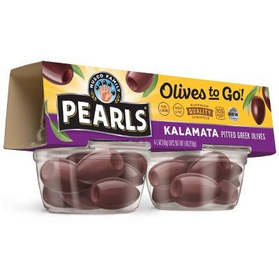 Pearls Kalamata Olives to Go - 4ct