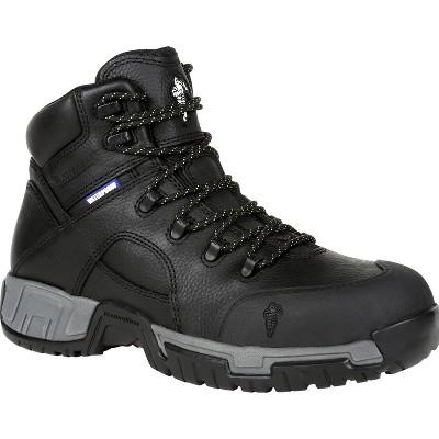 Men's Michelin® HydroEdge Steel Toe Puncture-Resistant Waterproof Work Boot