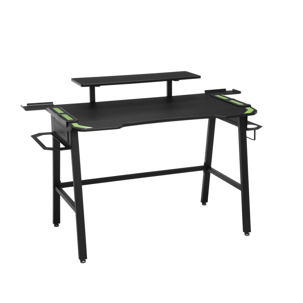 Image of 1010 Gaming Computer Desk Green - RESPAWN