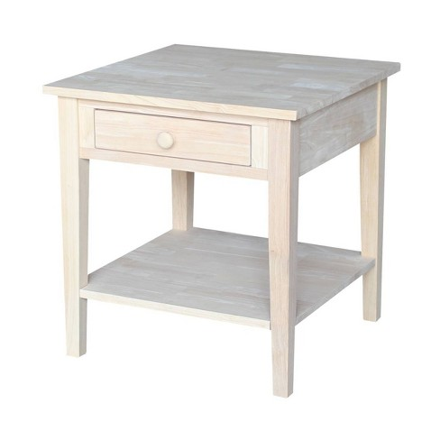 Spencer End Table - International Concepts - image 1 of 4
