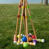 Hey! Play! Wooden Croquet Set with Carrying Case - image 3 of 4
