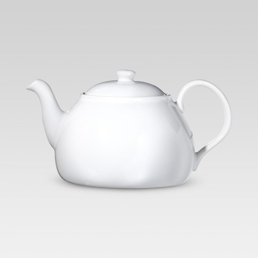 Image of Porcelain Teapot - White - Threshold