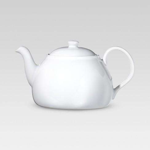Porcelain Teapot - White - Threshold™ - image 1 of 3