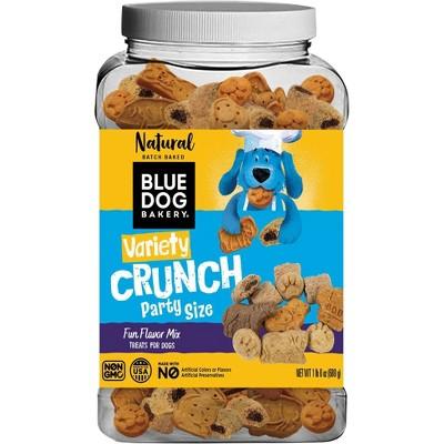 Blue Dog Bakery Variety Crunch Dry Dog Treats - 24oz