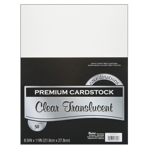 Vellum Value Pack - Clear - image 1 of 1