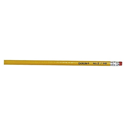 Dixon® Woodcase Pencil, HB #2 Lead,Yellow Barrel, 144/Box - image 1 of 1