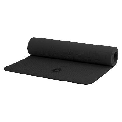 Stott Pilates Eco-Friendly Pilates & Yoga Mat - Black (6mm)