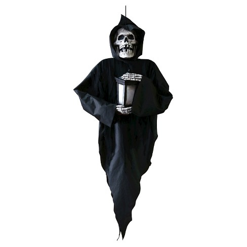 "48"" Halloween Hanging Door Reaper - image 1 of 1"