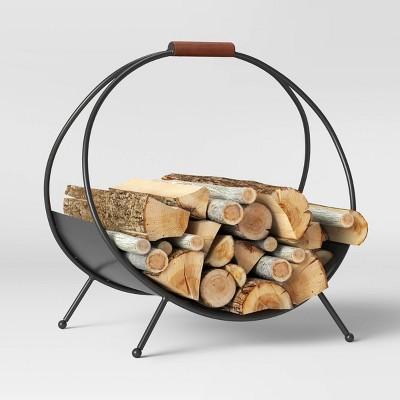 Iron Log Holder Black - Project 62™