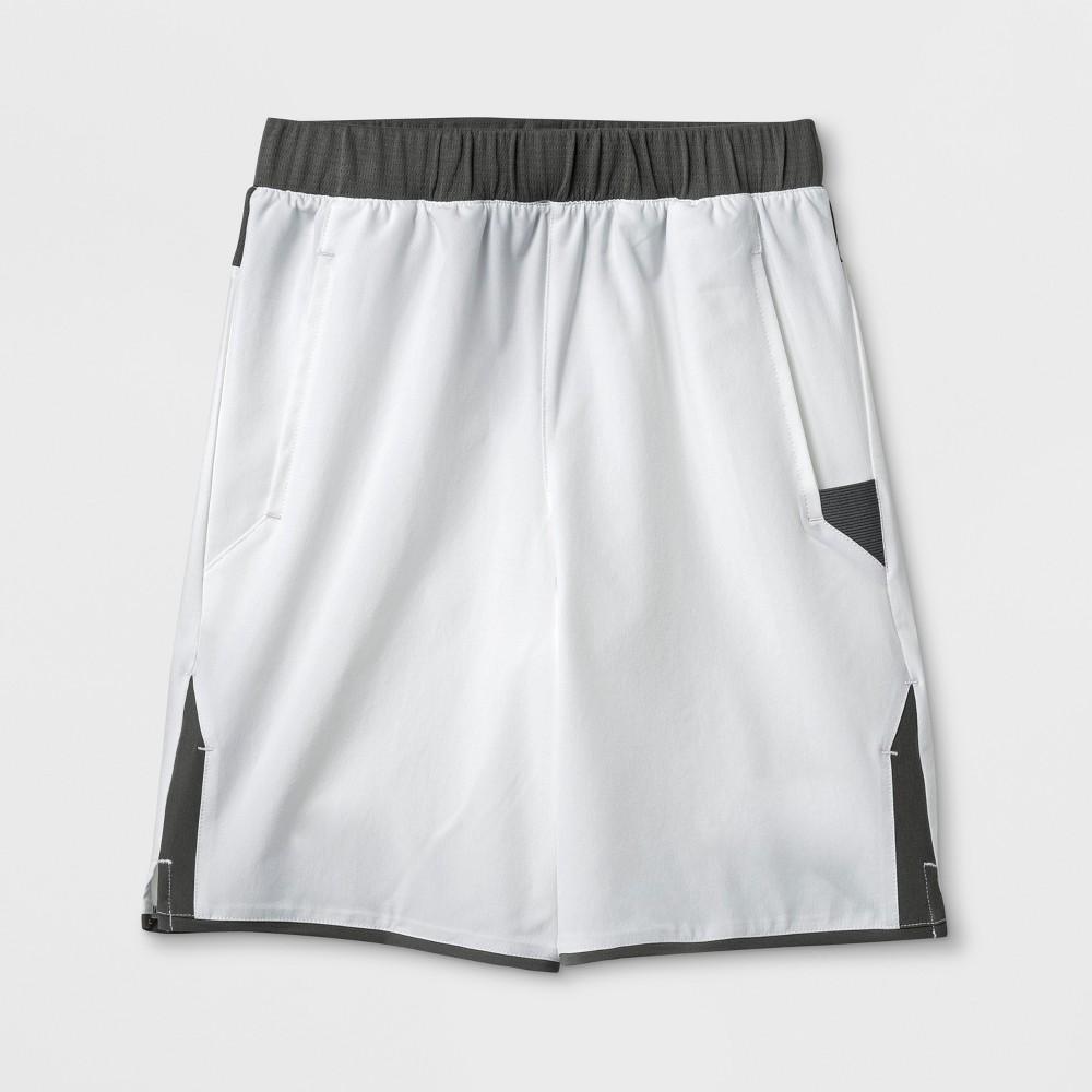 Boys' Tennis Shorts - C9 Champion White M