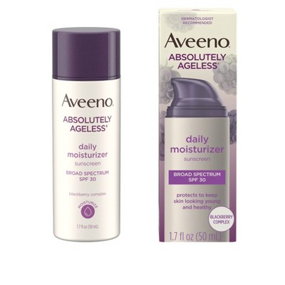 Aveeno Absolutely Ageless Daily Moisturizer - SPF 30 - 1.7 fl oz