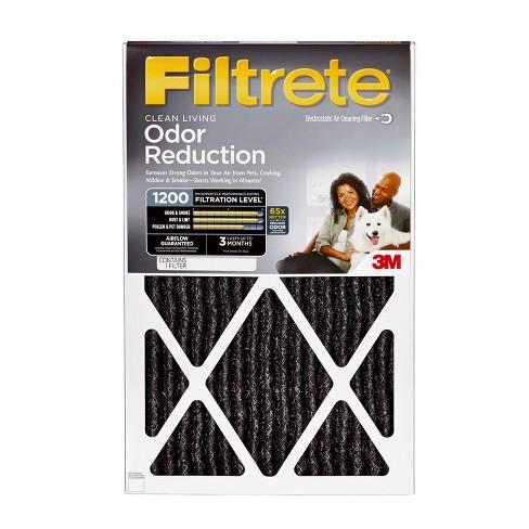 filtrete™ odor reduction 20x20 x1, air filter : target