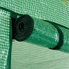2 Tier 8 Shelf Greenhouse PE Replacement Cover Green - To Fit Ogrow Item OG6868-PE - image 3 of 4