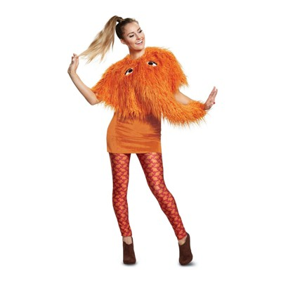 Sesame Street Womenu0027s Snuffy Deluxe Halloween Costume   Disguise