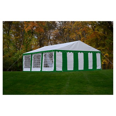 sc 1 st  Target & Shelter Logic 20x20 Party Tent And Enclosure Kit - Green/White : Target