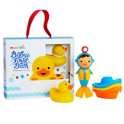 Munchkin Baby First Bath Toy Gift Set