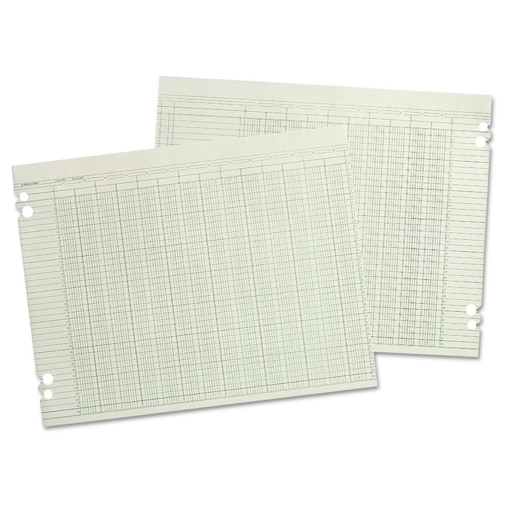 Wilson Jones Accounting Sheets, 24 Columns, 11 x 14, 100 ...