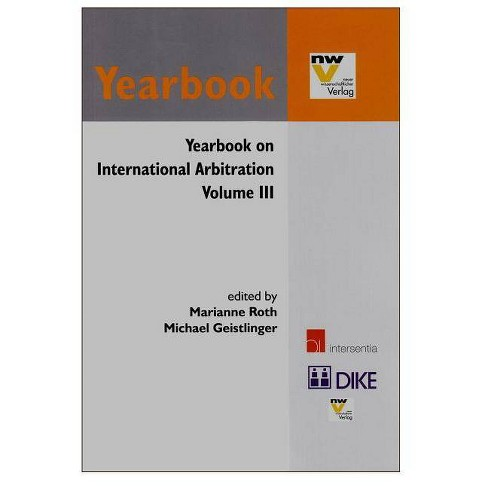 Yearbook on International Arbitration - (Paperback) - image 1 of 1