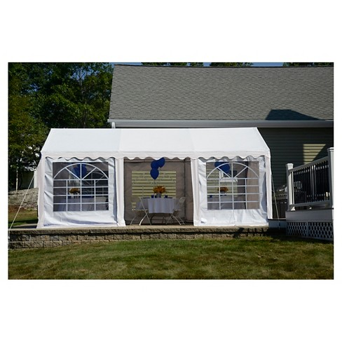 Shelter Logic 10x20 Party Tent and Enclosure Kit - White - image 1 of 1