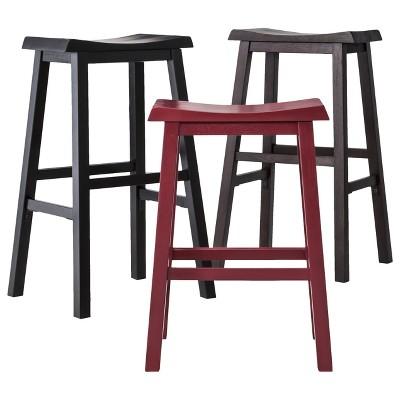 Trenton Saddle Seat Stool Collection - Threshold™