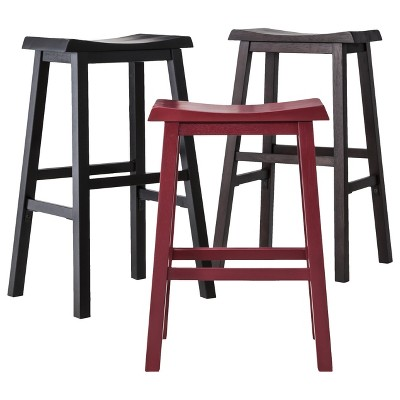 Amazing Trenton Saddle Seat 29 Barstool Threshold Gmtry Best Dining Table And Chair Ideas Images Gmtryco