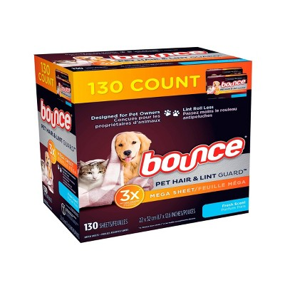 Bounce Pet Fresh Dryer Sheets - 130ct