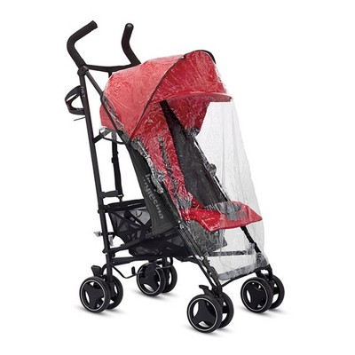 Inglesina A096GG85N Baby Infant Washable Net Stroller Rain Cover and Plastic Canopy Protector to Keep out Bugs, Dust, Wind, and Rain, Transparent