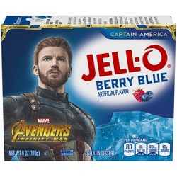 Jell-O Berry Blue Gelatin - 6oz