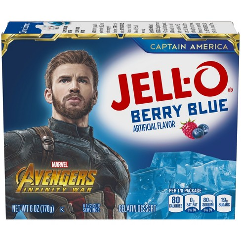 Jell-O Berry Blue Gelatin - 6oz - image 1 of 4