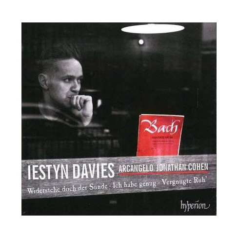 Iestyn Davies - Bach: Cantatas Nos. 52, 54, 82 & 170 (CD) - image 1 of 1