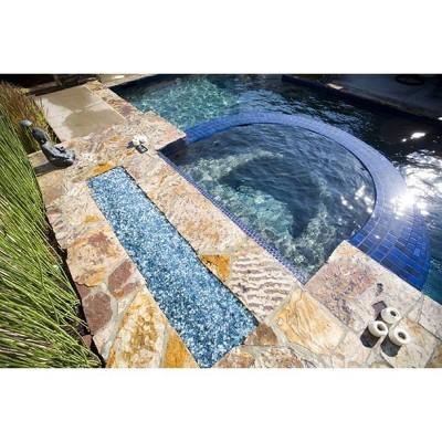 Reflective Fire Pit Fire Glass - Blue Sky - AZ Patio Heaters