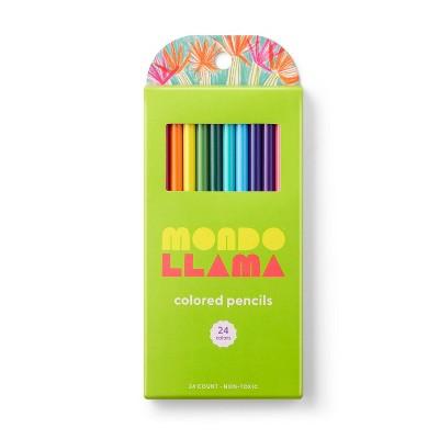 24ct Colored Pencils - Mondo Llama™