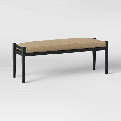 Fairmont Metal Patio Dining Bench - Tan - Threshold™