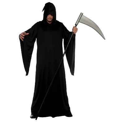 Adult Grim Reaper Halloween Costume One Size